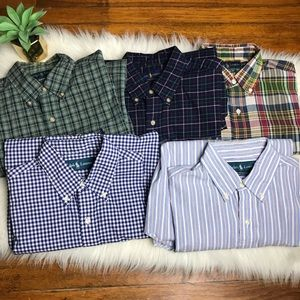 Ralph Lauren Polo #04P Men's Button Down Shirt Lot
